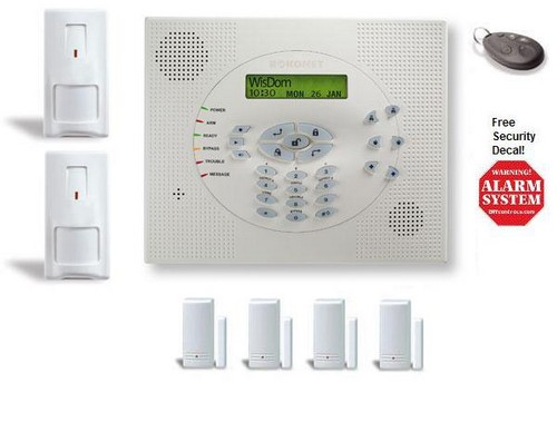 WisDom Wireless Value Kit takes up to 32 wireless sensors plus 1 wired zone