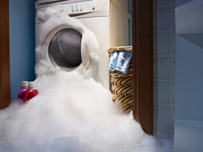 A leaking washing machine can be prevented.