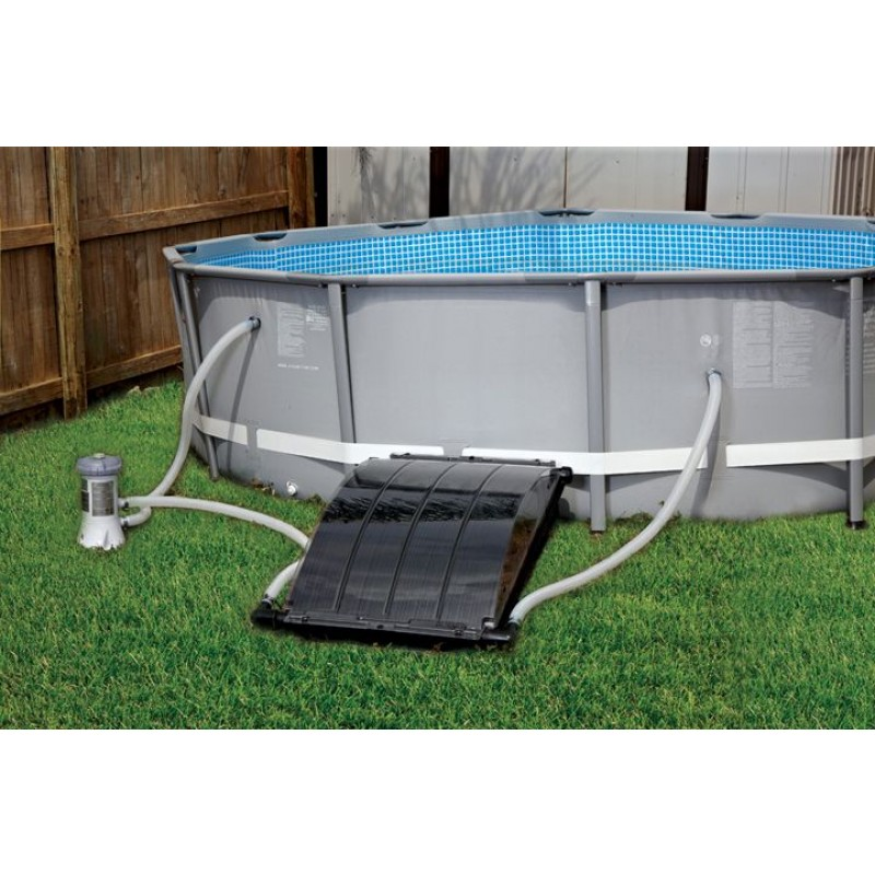 Benefits of a solar pool heater free energy and much - Solar powered swimming pool heater ...