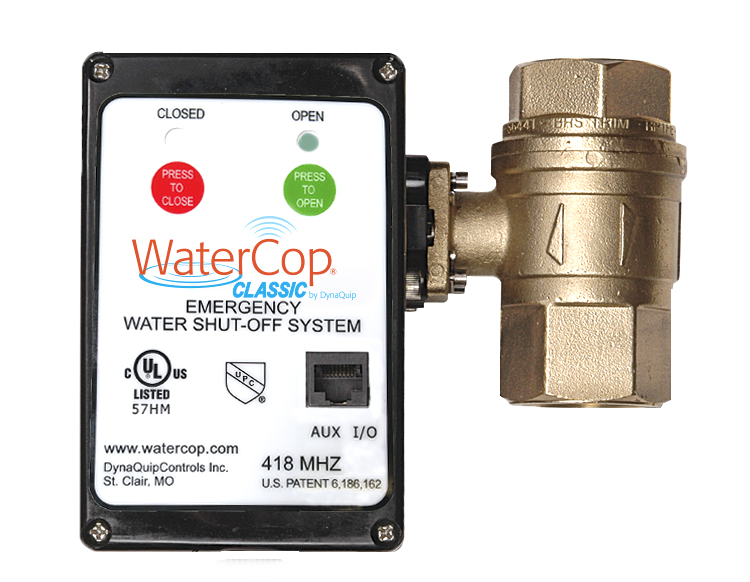 WaterCop Classic Emergency Water Shut-off System