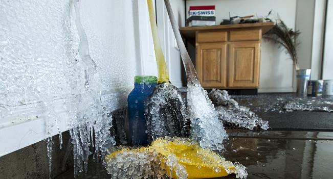 Frozen Pipes:  Thaw Safely, Prevent Disaster