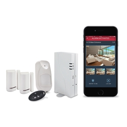 Risco Wicomm Internet/Cellular Security System - Basic Kit
