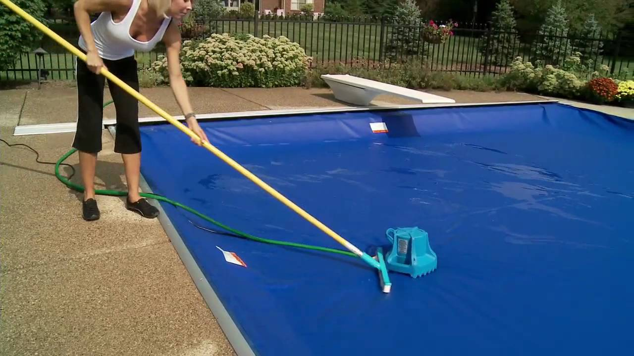 A Pool Cover Pump Is Essential To Winterizing Your Pool